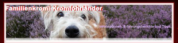 Gästebuch Banner - verlinkt mit http://www.familienkromi-kromfohrlaender.de